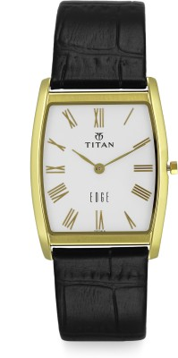 Titan Edge NH1044YL04 Analog Multi Color Dial Men's Watch (NH1044YL04)