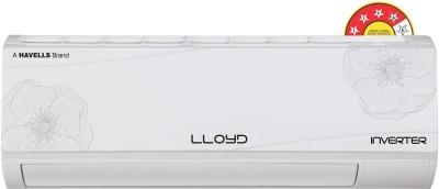 View Lloyd 1.5 Ton 4 Star Split Inverter AC  - White(LS18I42MP, Copper Condenser) Price Online(Lloyd)