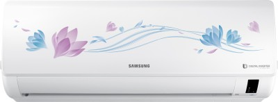 View Samsung 1.5 Ton 3 Star BEE Rating 2018 Split AC  - White(AR18NV3HFTV, Copper Condenser)  Price Online