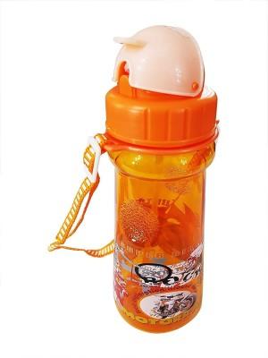 PELO School use Sipper Water Bottle For Kids 200 ml Bottle(Pack of 1, Orange)