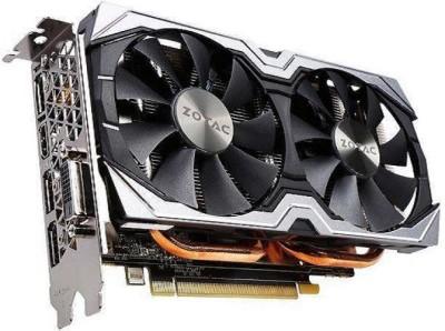 ZOTAC NVIDIA Geforce GTX 1060 Amp! Edition 6gb 192 BIt DDR5 6 GB GDDR5 Graphics Card(Black, White)