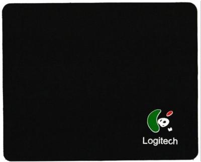 Logitech Black Color (size 25*20) Mousepad(Black)