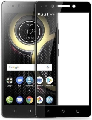 Richuzers Edge To Edge Tempered Glass for Lenovo K8 Note(Pack of 1)