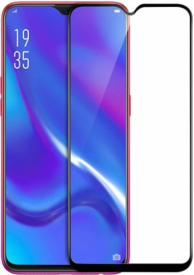 SAVD Edge To Edge Tempered Glass for SAVD- 6D Full Glue Tempered Glass for Oppo K1 Full Edge-to-Edge Screen Protection for Oppo K1 (Oppo K1 6D) Pack of 1(Pack of 1)