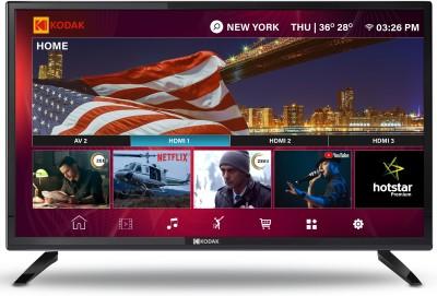 View Kodak XPRO 80cm (32 inch) HD Ready LED Smart TV(32HDXSMART)  Price Online