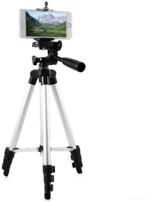 ROAR JSJ_558J_3110 Tripod smart phones compatiable Portable tripod with bluetooth remote||360 degree tripod|| Foldable triopod|| Camera stand|| Mobile Tripod|| Camcorder tripod|| Camera mount|| Extendable tripod||Three-Dimensional Head & Quick Release Plate|| Compatible with android & IOS smart phon 1