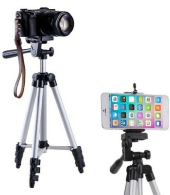 ROAR VFO_468V_3110 Tripod smart phones compatiable Portable tripod with bluetooth remote||360 degree tripod|| Foldable triopod|| Camera stand|| Mobile Tripod|| Camcorder tripod|| Camera mount|| Extendable tripod||Three-Dimensional Head & Quick Release Plate|| Compatible with android & IOS smart phon 1