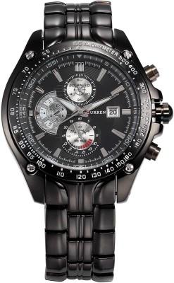 Curren Cur-0755 Decker Analog Watch  - For Men