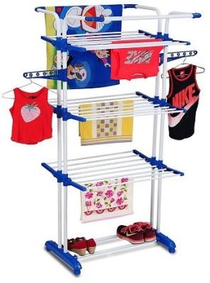 PARASNATH Steel Floor Cloth Dryer Stand kar 3-poll(3 Tier)
