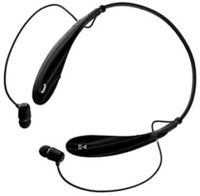 ALAFi Best HBS800 Bluetooth headphone y2 With Ultra Deep bass Sound Bluetooth Headset(Black, Wireless in the ear)