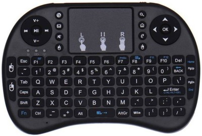 Czech Mini Wireless Keyboard with built-in Touchpad Mouse (Multifunction Touchpad Keyboard) Compatible with SMART TV, ANDROID TV BOX, android mobile and tablet, laptop ,p.c. Wireless Bluetooth Multi-d at flipkart
