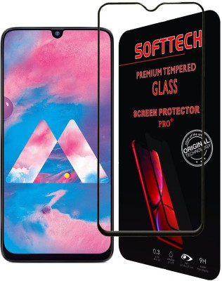 SoftTech Edge To Edge Tempered Glass for Samsung Galaxy A30, Samsung Galaxy A50, Samsung Galaxy M30, Samsung Galaxy A20(Pack of 1)