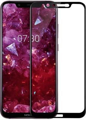 SMARTCASE Tempered Glass Guard for NOKIA 8.1(Pack of 1)