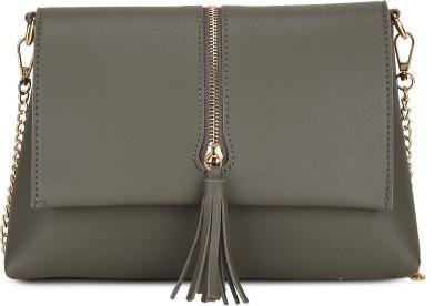 Chemistry Grey Sling Bag