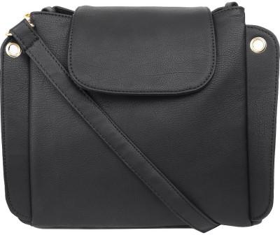 Lychee Bags Black Sling Bag