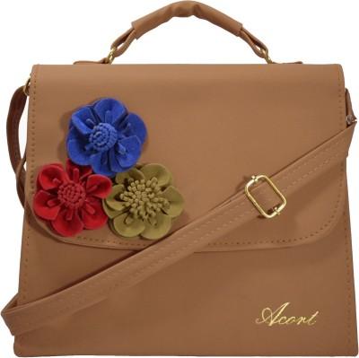 Acort Tan Sling Bag