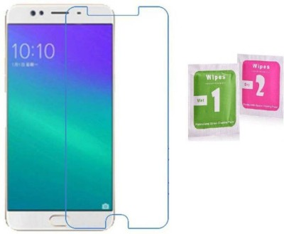 wrapitup Tempered Glass Guard for Screen Protector- 9H Ultra Strong 0.3 mm For Oppo F3 (Pack of 2)(Pack of 2)