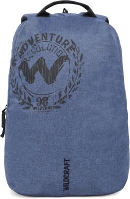 Wildcraft Knight_Mel 17.5 L Laptop Backpack(Blue)