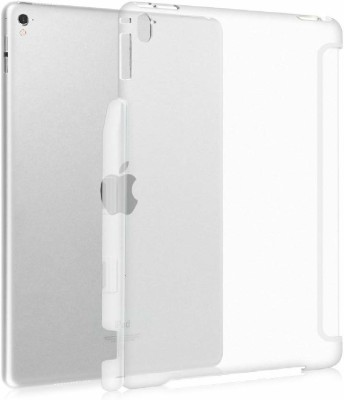 Realtech Back Cover for Apple Ipad Air / Apple Ipad Air 2(Transparent, Dual Protection, Silicon)