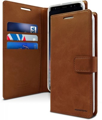 Vodex Flip Cover for Samsung Galaxy S10 Plus II Samsung S10 Plus(Brown, Dual Protection)