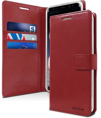 Vodex Flip Cover for Samsung Galaxy S10 II Samsung S10(Red, Dual Protection)
