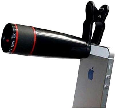 AZIZIAA 12X TELEPHOTO LENSE CLIP DSLR BLUR Mobile Phone Lens