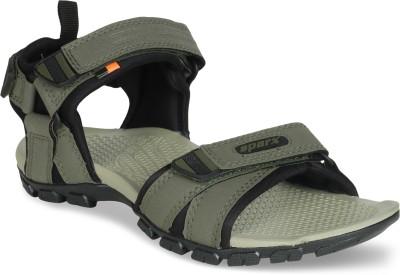 Sparx Men OliveBlack Sandals