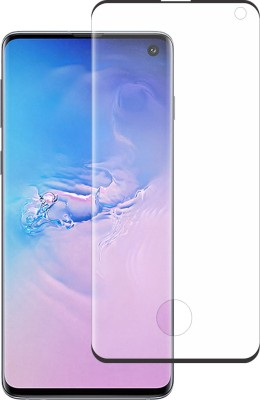 Stuffcool Edge To Edge Tempered Glass for Samsung Galaxy S10 (6.1 Inch) Model SM-G973F/DS, SM-G973U, SM-G973W(Pack of 1)