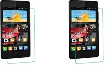 MYUZ Impossible Screen Guard for GIONEE PIONEER P4(Pack of 2)