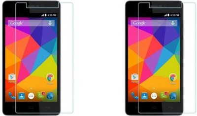 MYUZ Impossible Screen Guard for MICROMAX CANVAS FIRE 4G PLUS(Pack of 2)