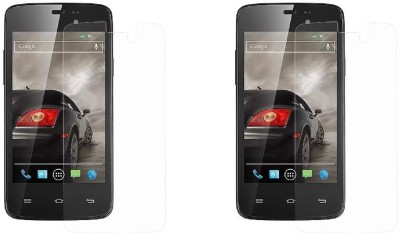 S-Model Tempered Glass Guard for XOLO A500S Lite(Pack of 2)