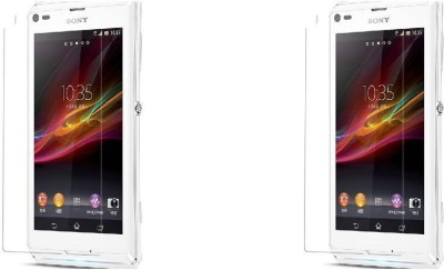 MudShi Impossible Screen Guard for Sony Xperia L(Pack of 2)