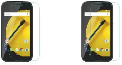 Phonicz Retails Impossible Screen Guard for Motorola Moto E (2nd Gen) 4G(Pack of 2)