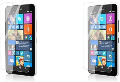COZR Impossible Screen Guard for Microsoft Lumia 640 XL(Pack of 2)