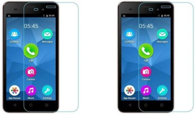 MudShi Impossible Screen Guard for Micromax Canvas Spark 2 Plus(Pack of 2)