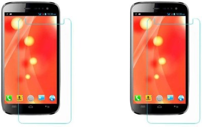 COZR Impossible Screen Guard for MICROMAX CANVAS A116I(Pack of 2)