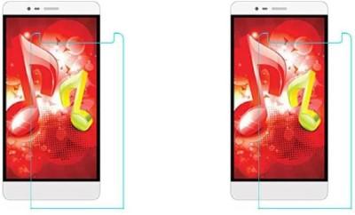 Mudshi Impossible Screen Guard for Intex Aqua i6(Pack of 2)