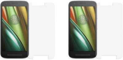Phonicz Retails Impossible Screen Guard for Motorola Moto E (3rd Generation)(Pack of 2)