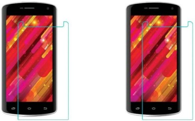 MudShi Tempered Glass Guard for Intex Cloud Glory 4G(Pack of 2)