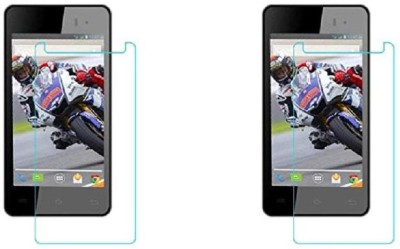 COZR Impossible Screen Guard for LAVA IRIS 406Q(Pack of 2)