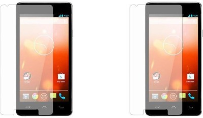 COZR Impossible Screen Guard for KARBONN TITANIUM S25 KLICK(Pack of 2)