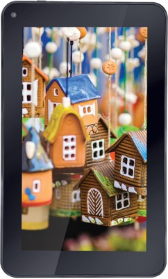iBall Q400x+ 8 GB 7 inch with Wi-Fi Only Tablet (Black) at flipkart