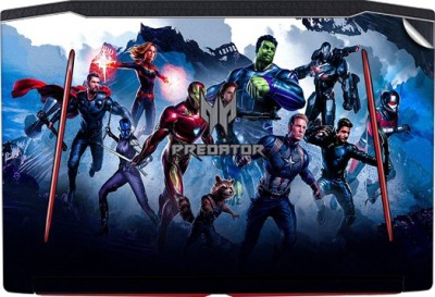 GADGETS WRAP GWSD-578 Printed Top Only Avengers End Game Team9 Vinyl Laptop Decal 15.6