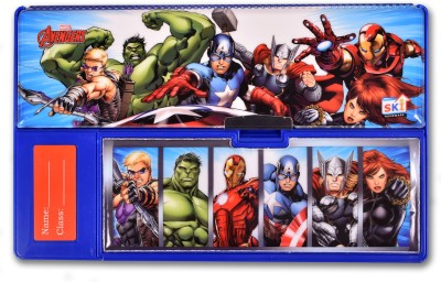 Marvel AVENGERS AVENGERS Art Plastic Pencil Box(Set of 1