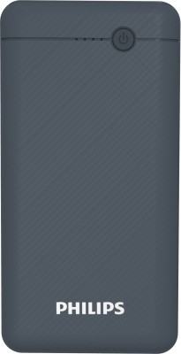 PHILIPS 10000 mAh Power Bank (Fast Charging, 10 W)(Blue, Lithium Polymer)