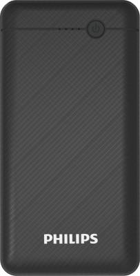 Philips 10000 mAh Power Bank (Fast Charging)(Black, Lithium Polymer)