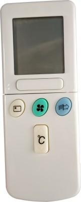 Axelleindia COMPATIBLE REMOTE (PLEASE MATCH THE IMAGE WITH OLD REMOTE) HITACHI Remote Controller(White)