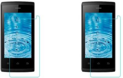 MudShi Impossible Screen Guard for Intex Aqua T5(Pack of 2)