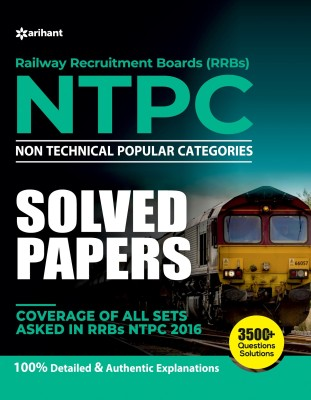 Rrb Ntpc Solved Papers(English, Paperback, unknown)