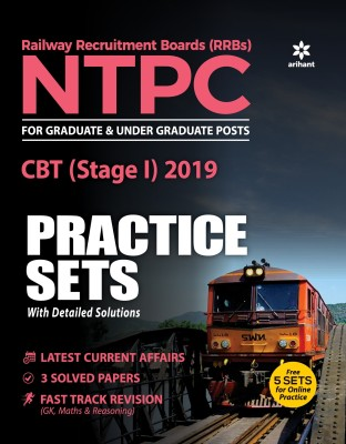 30 Practice Sets Rrb Ntpc CBT (Stage -1) Practice Sets 2019(English, Paperback, unknown)